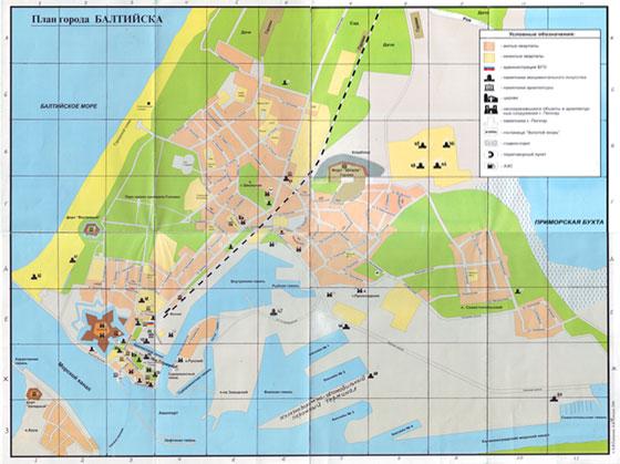 Карта разделена на секторы для